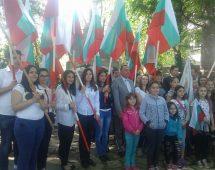 Освещаване на Военен паметник – чешма в село Дрангово